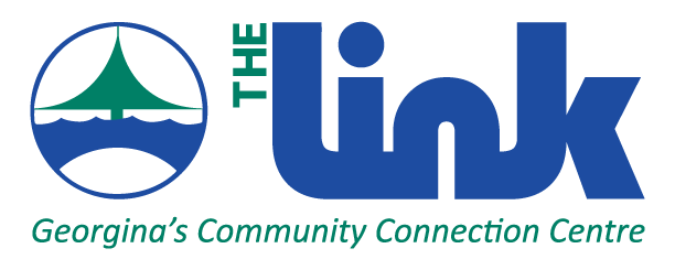 Logo for The Link, Georgina's Community Connection Centre and located at 20849 Dalton Road