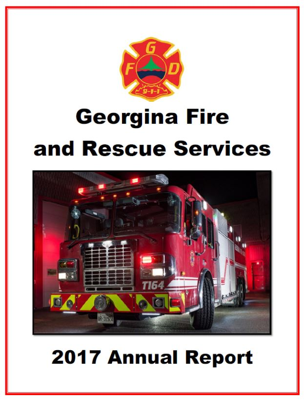 Georgina Fire and Rescue - 2017 Annual Report
