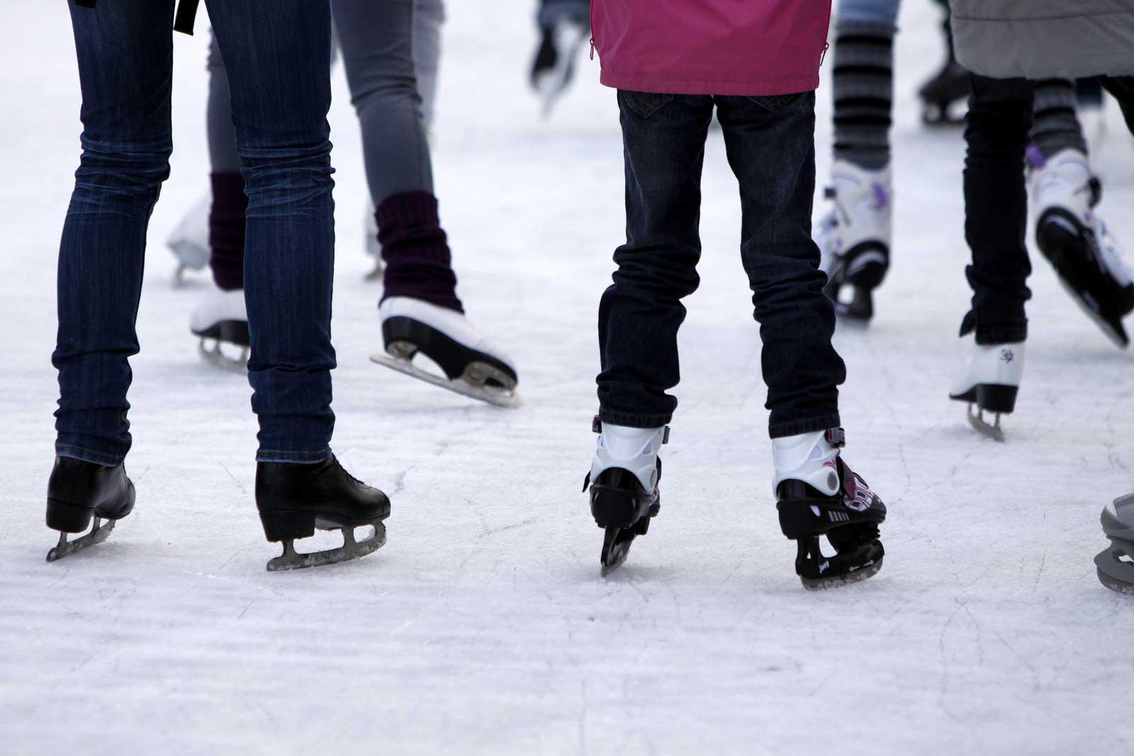 public skating, skates
