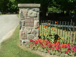 Briar Hill Cemetery entrance
