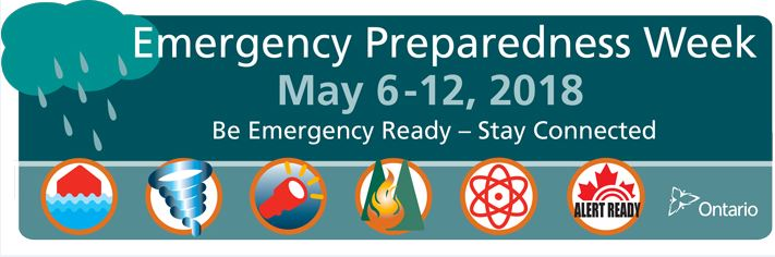 Emergency Preparedness Week - May 6 to 12, 2018