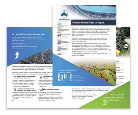 Georgina Economic Development Newsletter Fall 2019