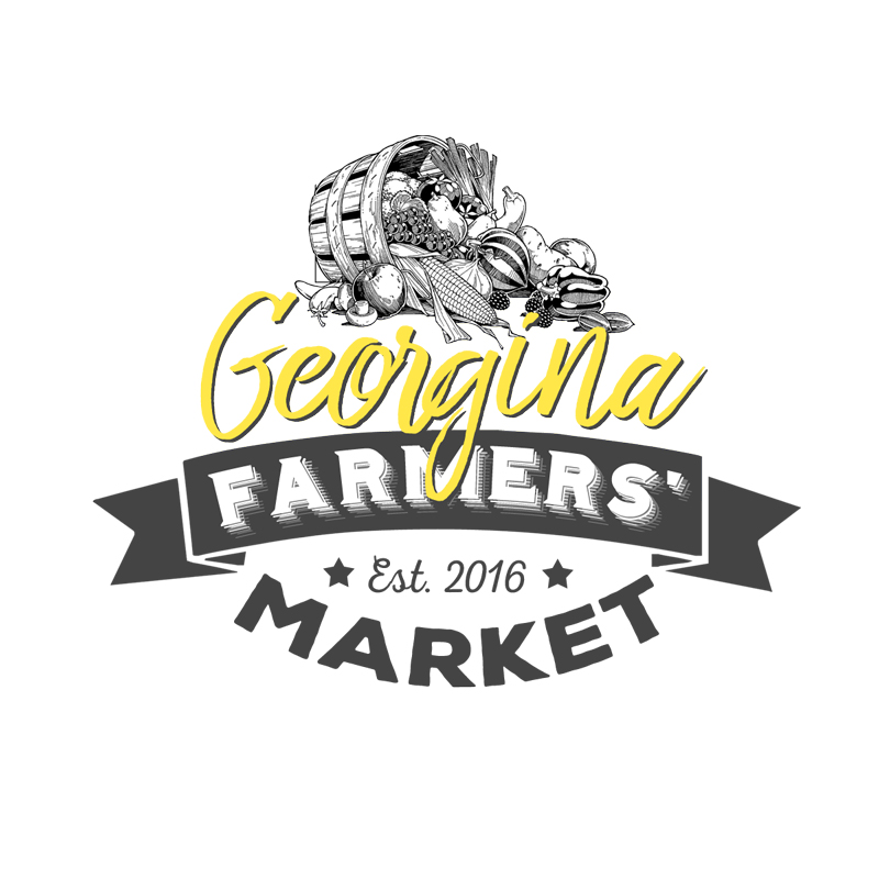Georgina Farmers' Market in York Region logo