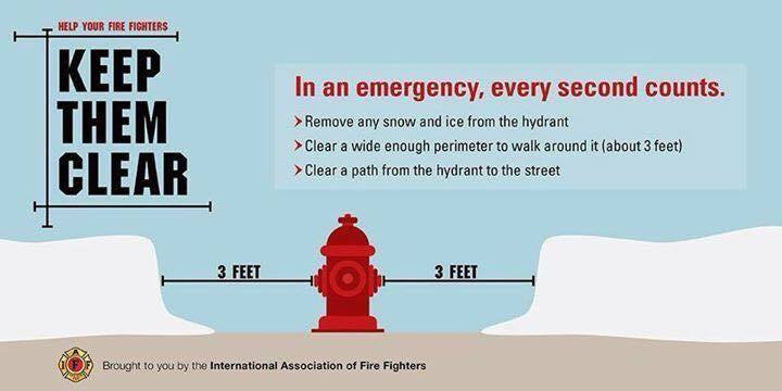 Keep your hydrant clear