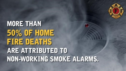 More Than 50% Of Deaths Are Attributed to Non-Working Smoke Alarms Photo