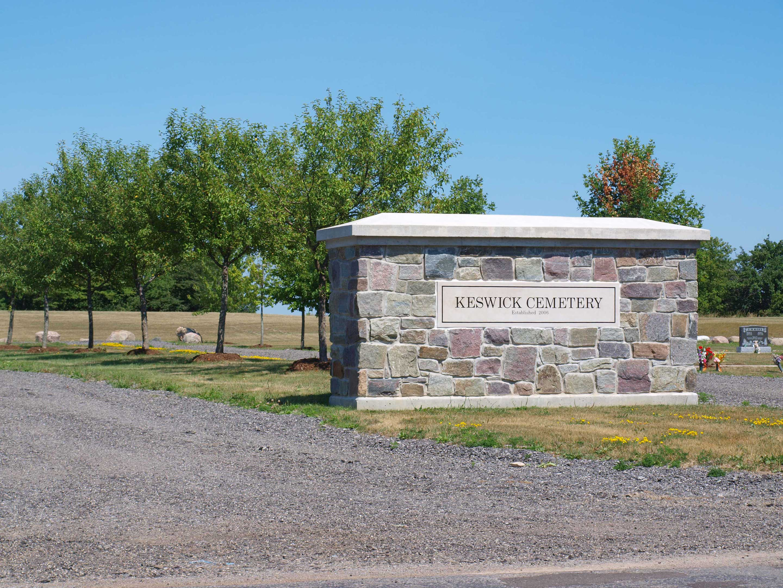 Keswick Cemetery entrance