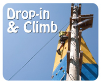 Check out our Drop-In Ropes & Rocks Program