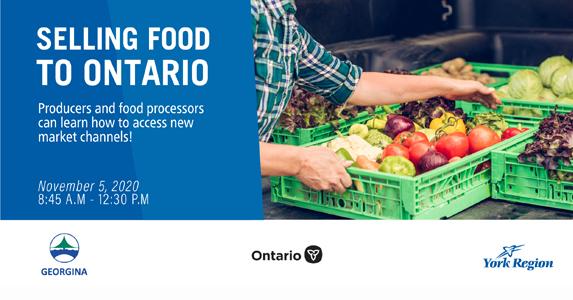 Selling Food to Ontario webinar in Georgina