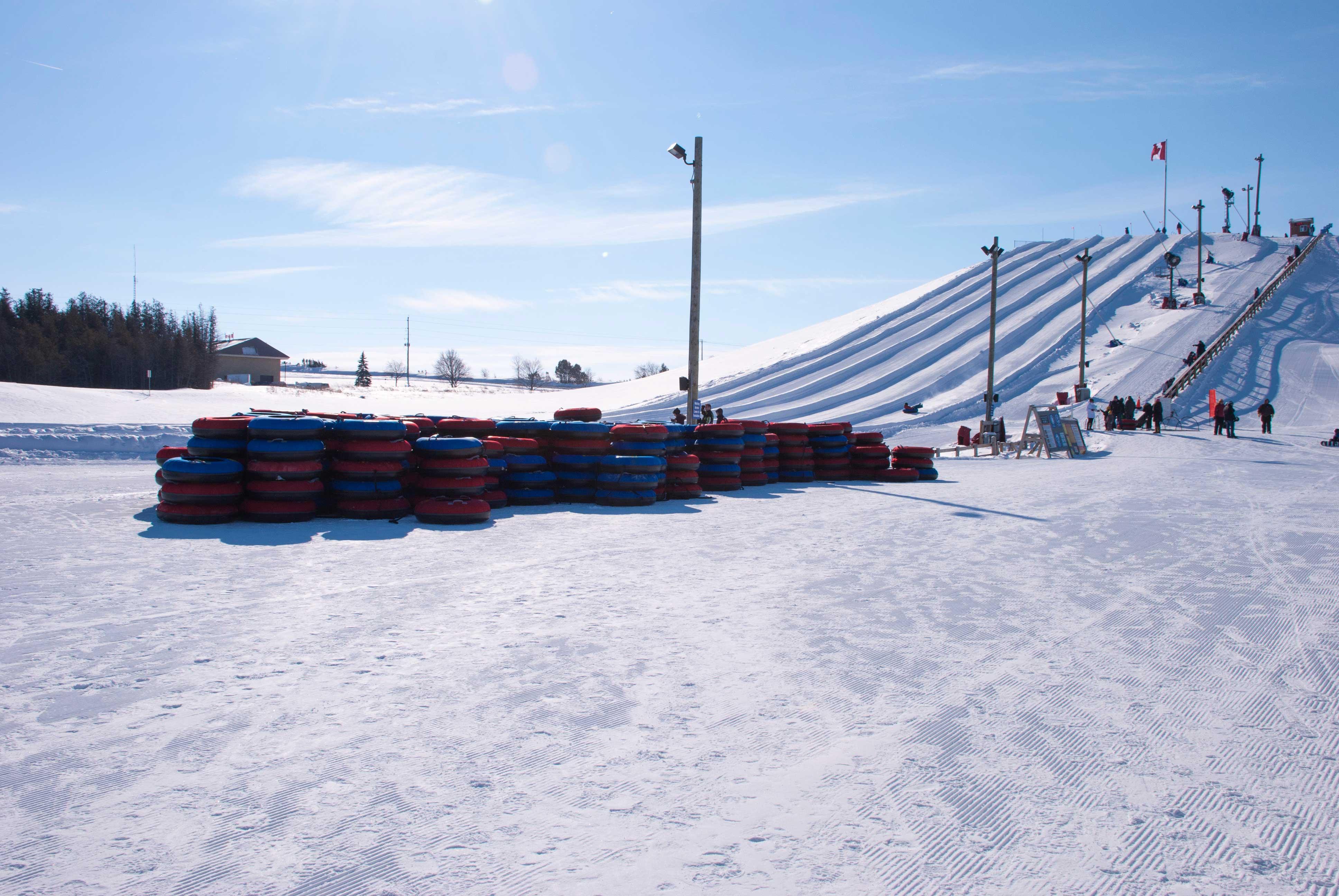 Snow Tubing lanes