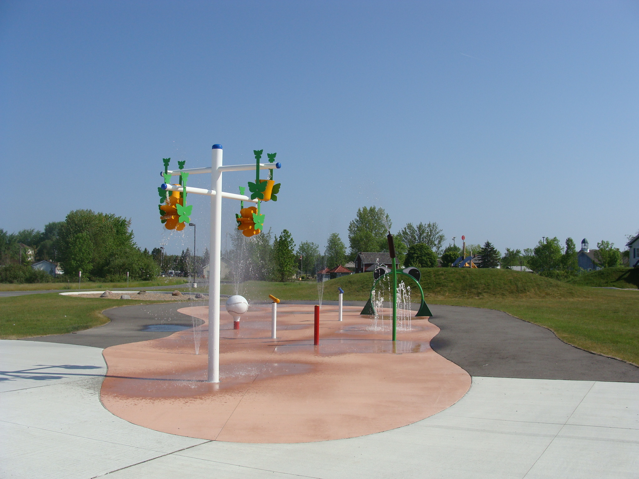 photo of splash pad